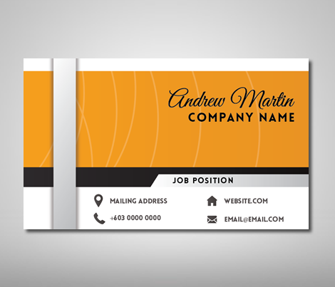 Name card design template business card design name card design nc057 cheaphphosting Images