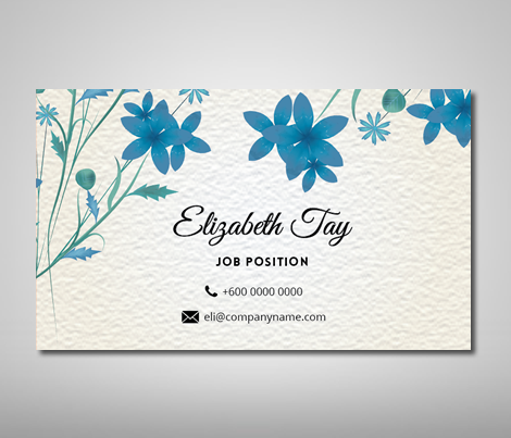 Name Card Design Template - Business Card Design, Name Card Design ...
