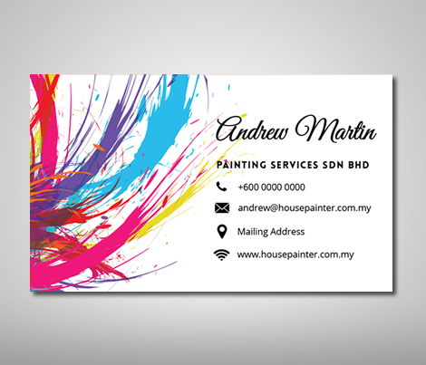 Cheap Name Card Design Malaysia